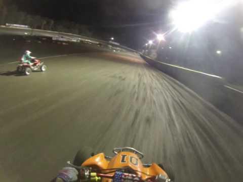 8-27-16 Sr. 30+ Quad Main (Shawn) Hilltop Speedway Millersburg, Ohio