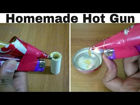 DIY How To Make Hot Glue Gun At Home | CRAZY DUDE