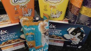 Что едят мои кошки   Каким кормом я их кормлю