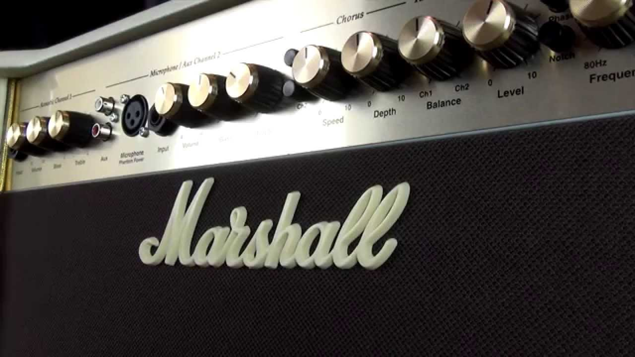marshall as50d acoustic guitar amplifier review youtube. Black Bedroom Furniture Sets. Home Design Ideas
