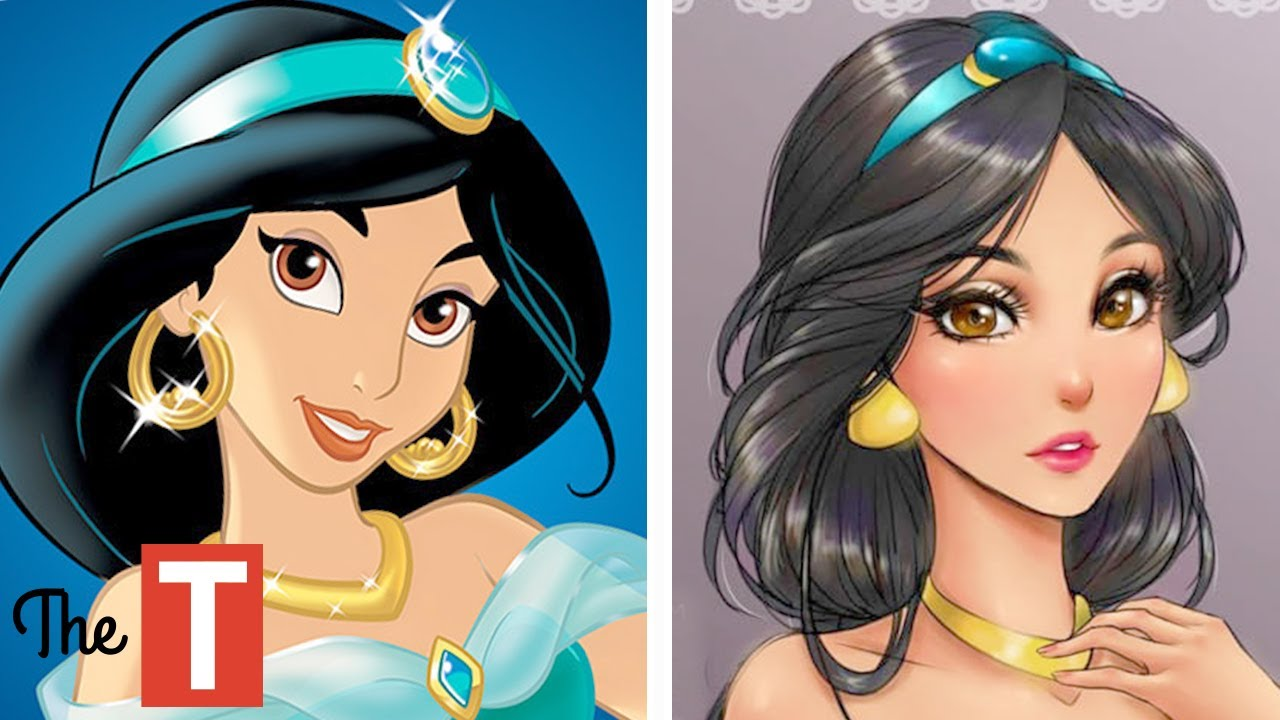 15 Disney Princesses Reimagined As Anime Characters Youtube