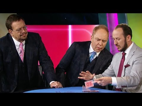 Penn & Teller Fool Us: Kostya Kimlat's IMPOSSIBLE Card Trick // Season 5