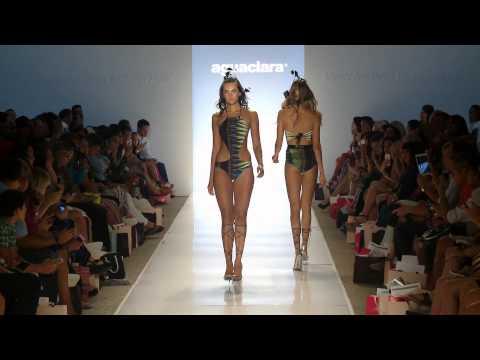2015 Aguaclara Swimwear at Mercedes Benz Fashion Week Swim
