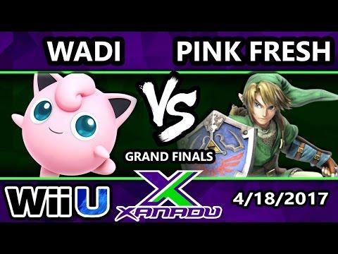 S@X 198 - InC   Wadi (Jigglypuff) Vs. VGBC   Pink Fresh (Link) - SSB4 Grand Finals - Smash Wii U