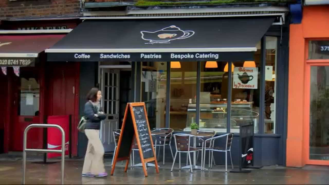 Rita Clifton talks about coffee shop brands on BBC2s