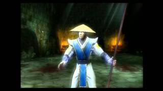 Mortal Kombat Shaolin Monks: Utterly pointless sonya gameplay