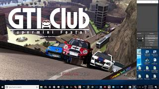 TEKNOPARROT 1.82 - GTI CLUB SUPERMINI FESTA PC - 1080p 60fps UK ARCADES
