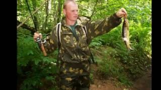 Ловля ручьевой форели на спиннинг ультралайт часть 2 Trout and Pike