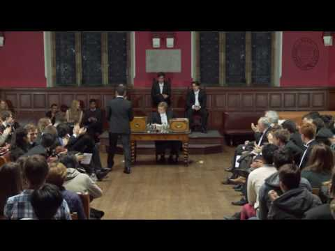 Debate of Oxford University, UK