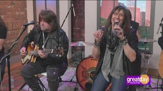 """Rock band Tesla performs their new song """"Forever Loving You"""""""