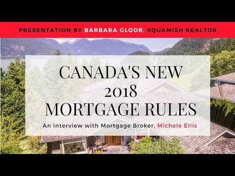 Canada's 2018 New Mortgage Rules - A Breakdown