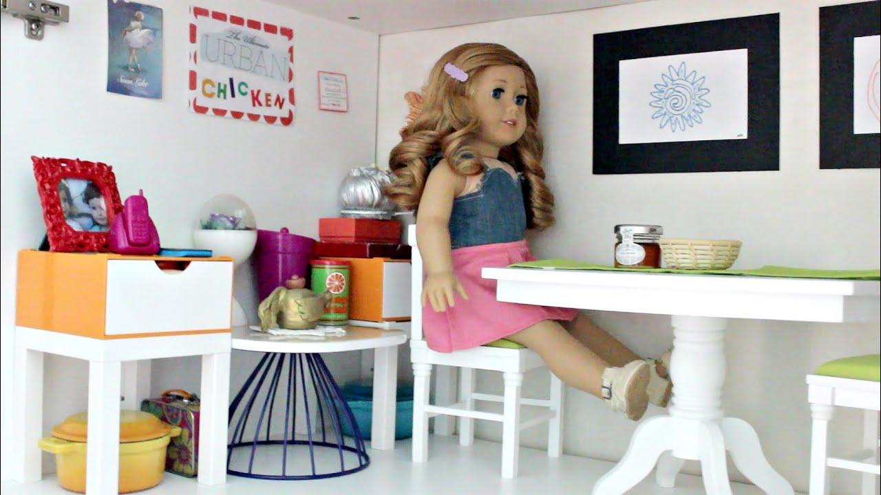huge americangirl doll house youtube