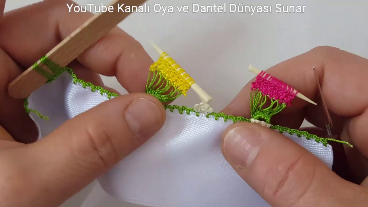 Kürdan Oyası Yapılışı Türkçe Videolu