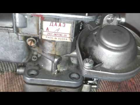 Карбюратор ваз|как выставить уровень топлива