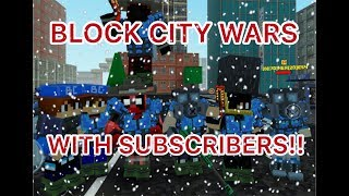 Block city wars-Hanging out with subscribers and fans/CHRISTMAS