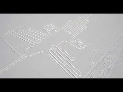 Nazca's geogliph in Borovkovo near Moscow