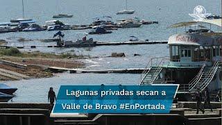 Ambientalistas y habitantes acusan que en sitio turístico en el Edomex hay 200 lagos con agua extraída de manantiales y ríos locales