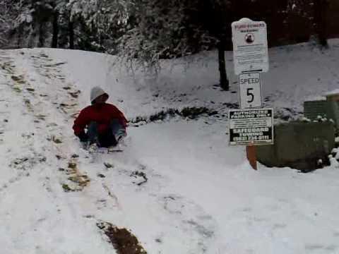 Snow tubing... :)