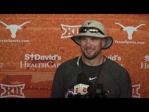 The Bottom Line - Coach Herman Speaks With The Media After The First Padded Practice