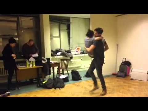 Ed Cooper Clarke and Declan Perring, Movement with Stephen Meadows