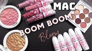 MAC BOOM BOOM BLOOM Collection: Live Swatches & Review