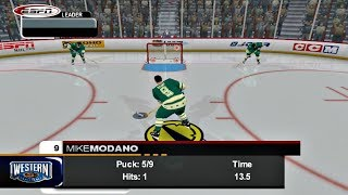 ESPN NHL 2K5 (Xbox) All Star Skills Competition Western Conference vs Eastern Conference
