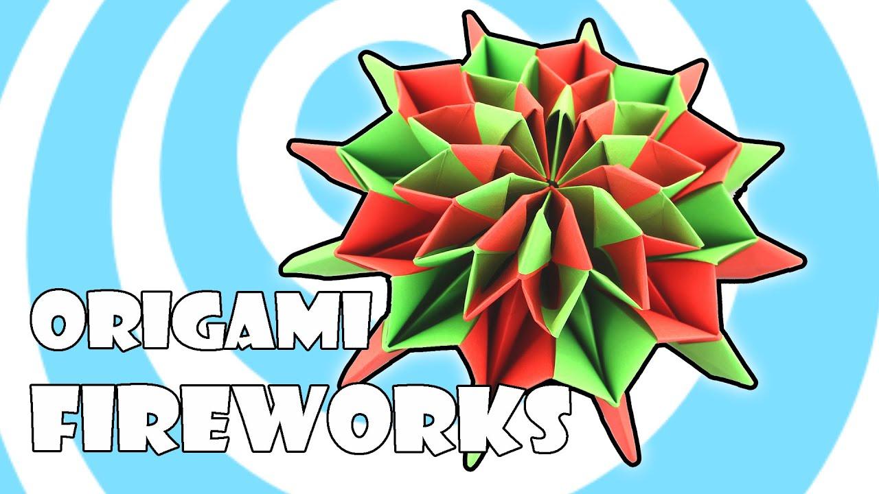 Cool Modular Origami Diagram 2003 Harley Electra Glide Wiring Fireworks Instructions Yami Yamauchi Youtube