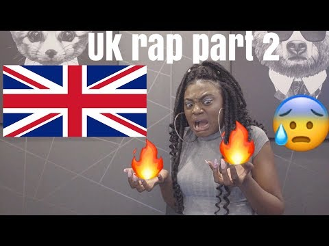 FIRST REACTION TO UK RAP | PART 2