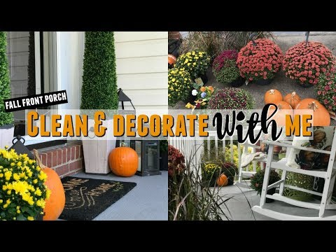 2019 Fall Front Porch Clean & Decorate With Me | Fall Front Porch | Fall Front Porch Ideas