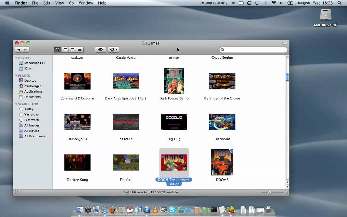 Checking out DOSBox on OS X - the Boxer Dosbox implementation on OS X - YouTube