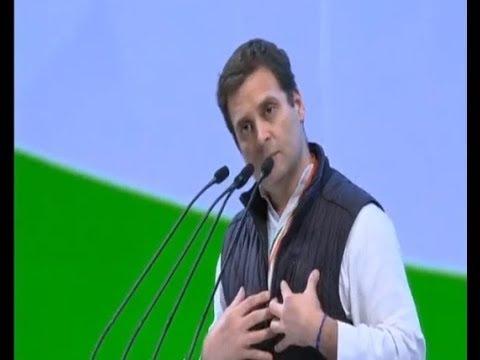 LIVE: Rahul Gandhi addresses Congress Plenary Session, Indira Gandhi Indoor Stadium, New Delhi