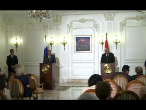 مؤتمر صحفي لوزيري خارجية روسيا ومصر  - نشر قبل 3 ساعة