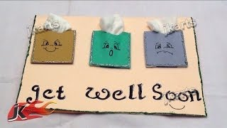 DIY Get well soon Greeting Card JK Arts 178