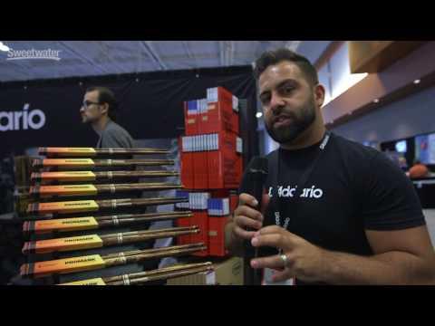 Promark FireGrain Heattempered Drumsticks Overview at Summer NAMM 2017