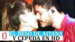 El beso de Aitana y Cepeda HD en el concierto Bernabéu que desata las redes, OT Bernabeu Beso Aiteda