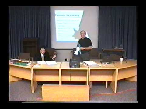 Law Society of Upper Canada - Forensic evidence - part one