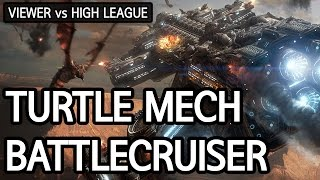 turtle mech into battlecruiser vs zerg l starcraft 2 legacy of the void l crank