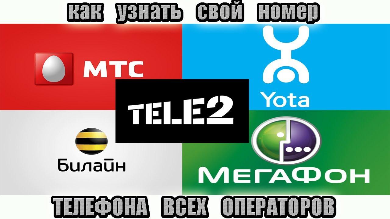 Как узнать свой номер телефона всех операторов - YouTube 3d5059e12a3