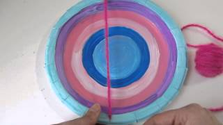 Weaving with Children: Circle Loom Weaving Part 2