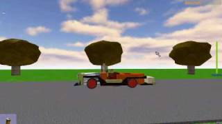 ROBLOX CHITTY  FIRST DRIVE IN BLOX SIDE