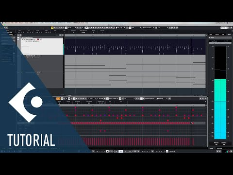MIDI Editors in Cubase | Music Production for Beginners 3