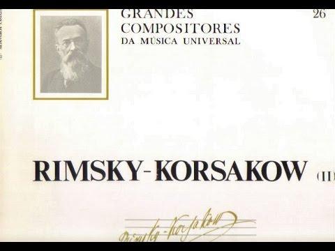 Rimsky-Korsakow. Antar. Albert Bittner.