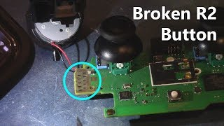 How to Fix Broken R2 Button on PS4 Controller (Cleaning Solution)