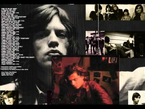 """HEART OF STONE/NEVER TEAR US APART"" by THE ROLLING STONES/INXS"