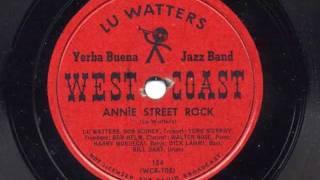 Annie Street Rock by Lu Watters