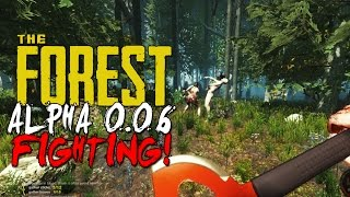 The Forest Alpha 0.06 Update - Cannibals Fighting! + New Caves!