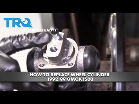How To Replace Wheel Cylinder 1992-99 GMC K1500