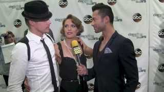 Dancing With The Stars Red Carpet | Amy Purdy & Derek Hough | AfterBuzz TV May 12th 2014