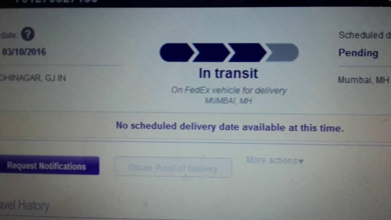Fedex india customer service