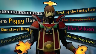 These are RuneScape's ŗarest titles